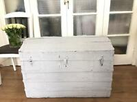 LARGE VINTAGE TRUNK CHEST STORAGE BOX FREE DELIVERY LDN🇬🇧