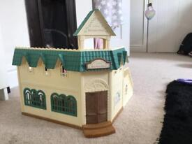 Sylvanian families school and characters and equipment
