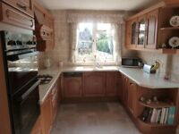Arthur Bonnet St Cloud Solid Medium Oak (French) fitted kitchen