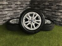 """16"""" Genuine Ford Transit Connect Alloy wheels Tyres Wheel Double Spoke"""
