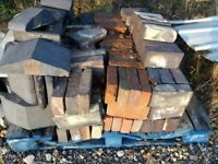 Bricks reclaimed for sale just £1 each