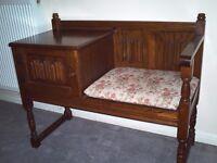 Telephone Table/Seat