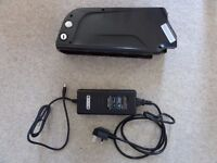 36V 10A Electric Bike battery and charger
