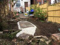 Gardening / fencing painting / jet washing block paving / slabs
