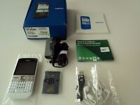 Nokia E5 in White and Silver, Brand New Boxed, Unlocked on all Networks