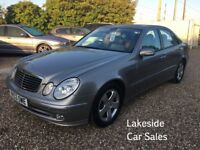 Mercedes E320 CDI Avantgarde Auto/ Diesel 4 Door Saloon, Service History, Long MOT, Lovely Condition