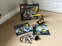 Lego TECHNIC 8047 2 in 1 Models to make Digger/Excavator