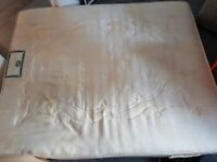 King size mattress for collection - free