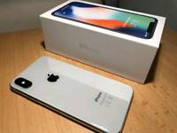 IPhone X 64GB Silver/White Brand New Boxed