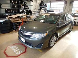 2013 Toyota Camry LE Fuel economy