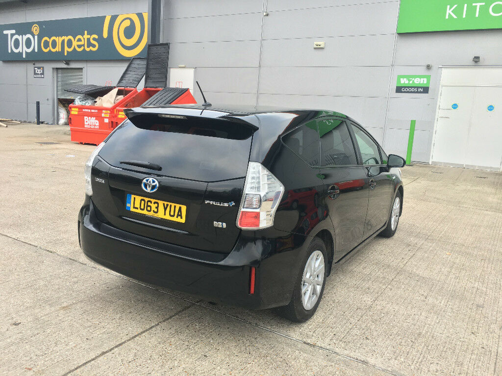 2014 toyota prius plus 1.8 hybrid icon 7 seater, 1 owner, 84k f/s/h, hpi clear 100% uk model car