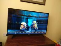 """50"""" Full HD Hisense LED TV with Freeview HD Tuner - Barely used & great condition!"""