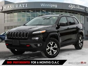 2017 Jeep Cherokee TRAILHAWK: ONE OWNER, ACCIDENT FREE