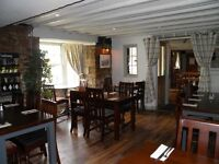 Chef or Couple required for Busy Pub with Rooms – LIVE IN or LIVE OUT