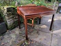 Antique desk / writing slope / drawing table