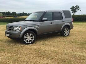 Land Rover Discovery 4 Commercial 2010 Metallic Grey