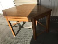 Cumberland dark oak corner desk
