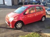 Daihatsu Charade 1.0 Petrol Automatic 2006 Red