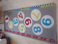 Rug/Mat for Child's Bedroom - Good Condition - Collection PE27 asap