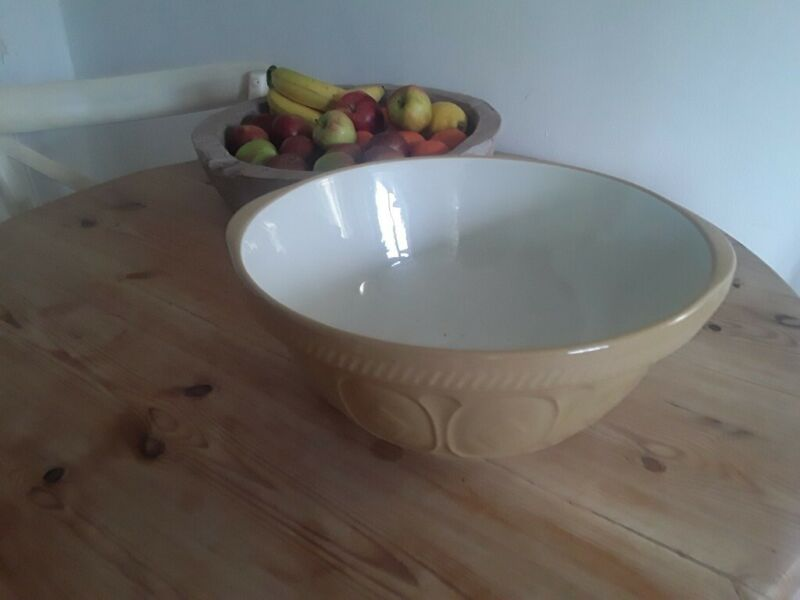 Used, Traditional Antique T G Green Mixing Bowl 12 inch 1960 Stamped for sale  Woodbridge, Suffolk