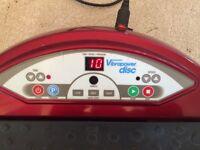 VIBROPOWER DISC vibrating plate exerciser