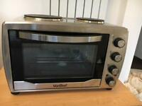 36l vonshef portable electric oven hob