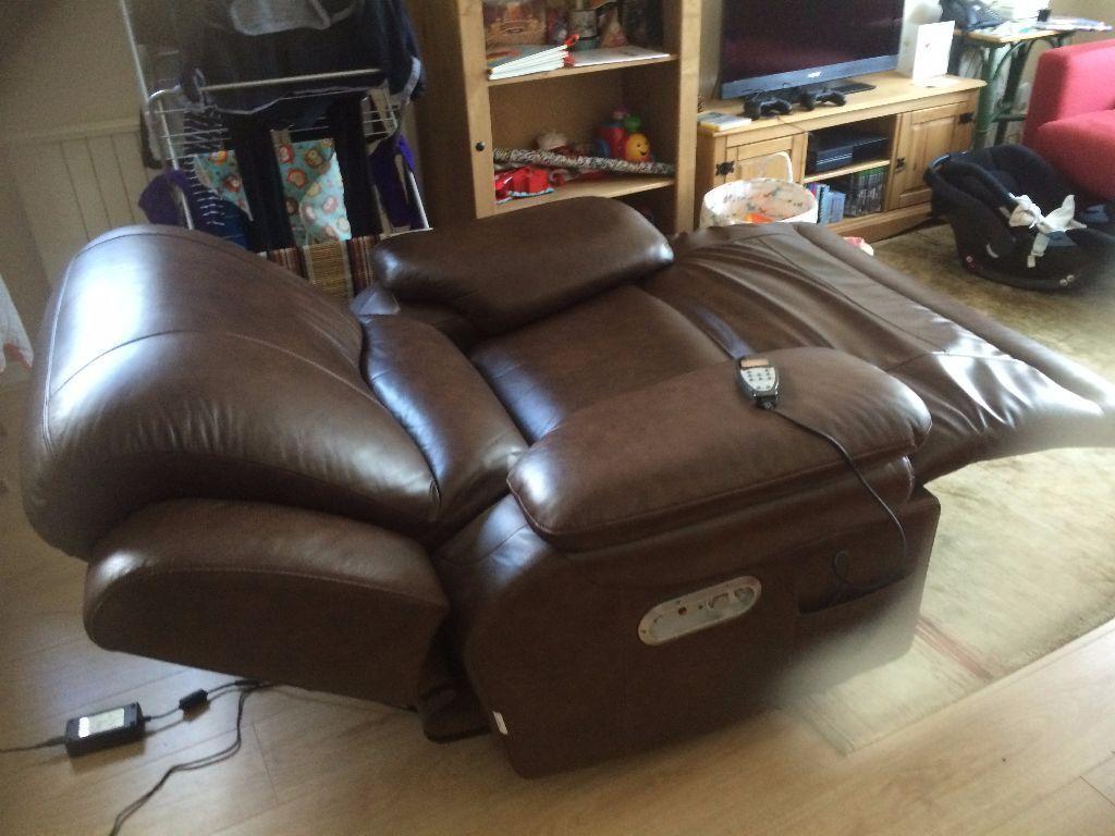 La Z Boy Gizmo Reclining Armchair With Inbuilt Fridge