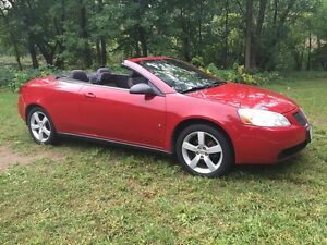 2007 Pontiac G6 GT Convertible Only 94500 km