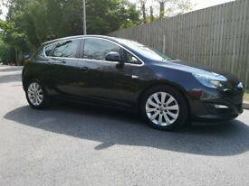 Vauxhall Astra 1.7 cdti 2014 Eco flex Black