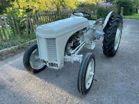 1950 Ferguson TEA20 Tractor Petrol (TE20 Grey Fergy) V5C 4 new tyres, wings etc