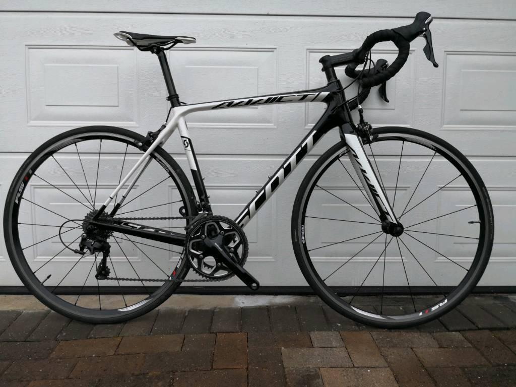 a4eec32ba01 Scott Addict 30 105 Full Carbon Road Bike 54cm Medium 7.95kg Serviced
