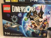 Lego Dimensions Xbox 360 Starter Pack, New, Sealed