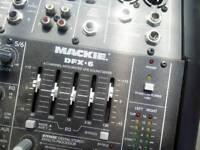 Mackie mixer