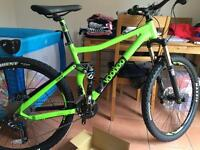 VooDoo Zobop 650b Mens Full Suspension Mountain Bike