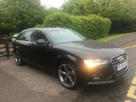AUDI A4 ESTATE TDI 2.0L AUTO 52,000 MILES ONLY CAT C IMMACULATE CONDITION