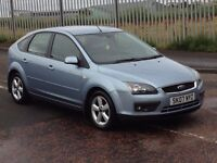 2007 Ford Focus zetec 1.6 , finance from £25 a week , mot - September 2017 , only 44,000 miles,astra