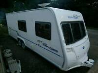 Bailey Ranger GT60 620 6 10 Berth Twin Axle tourer