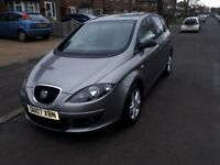 Seat Altea Reference Sport 1.9TDI PD 2007 plate (Golf Plus)