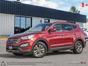 2016 Hyundai Santa Fe Premium,ECO,B.TOOTH,HEATED F+R SEATS+S.WHE