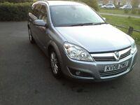Vauxhall Astra Design Estate 1.8L LOW MILEAGE Full Years MOT