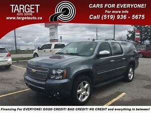 2008 Chevrolet Suburban LTZ, Leather, Roof, DVD, Navi and More !
