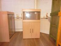 brand new 2ft vivarium and cabinet in lisa oak