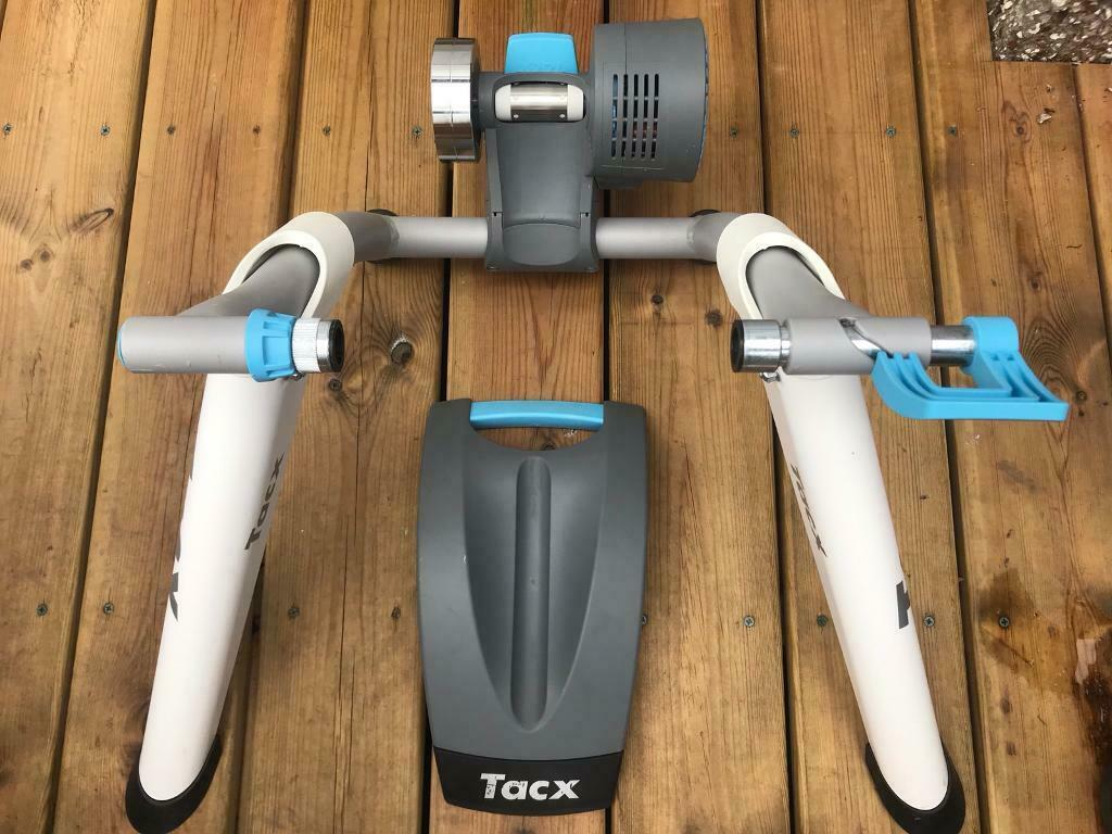 Tacx Flow Smart bicycle trainer including Zwift set-up | in Dundee | Gumtree
