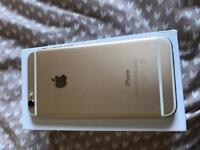 iPhone 6, 16gb, gold, 1yr old - £190
