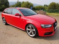 MARCH 2013 Audi A4 S LINE BLACK EDIT TDI QUATTRO, 1 OWNER, ONLY 32K FSH