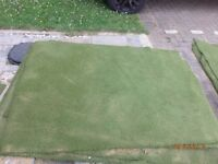 astro turf (artificial grass) leftovers from DIY project