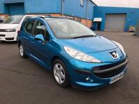 2009 PEUGEOT 207 sw 1.6 PETROL AUTOMATIC # PAN ROOF # GENUINE LOW MILES # CAT C