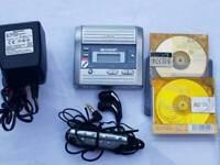 Sharp mini disc player