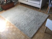 Pure wool pile rug - recently professionally cleaned.