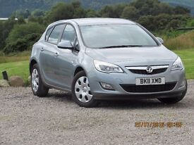 2011/11 VAUXHALL ASTRA 1.6 ES. 2 FORMER KEEPERS, SERVICE HISTORY, LOW MILEAGE